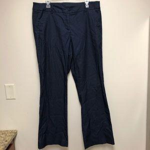 Lane Bryant 16 Wide Leg Stretch Jean Work Trousers